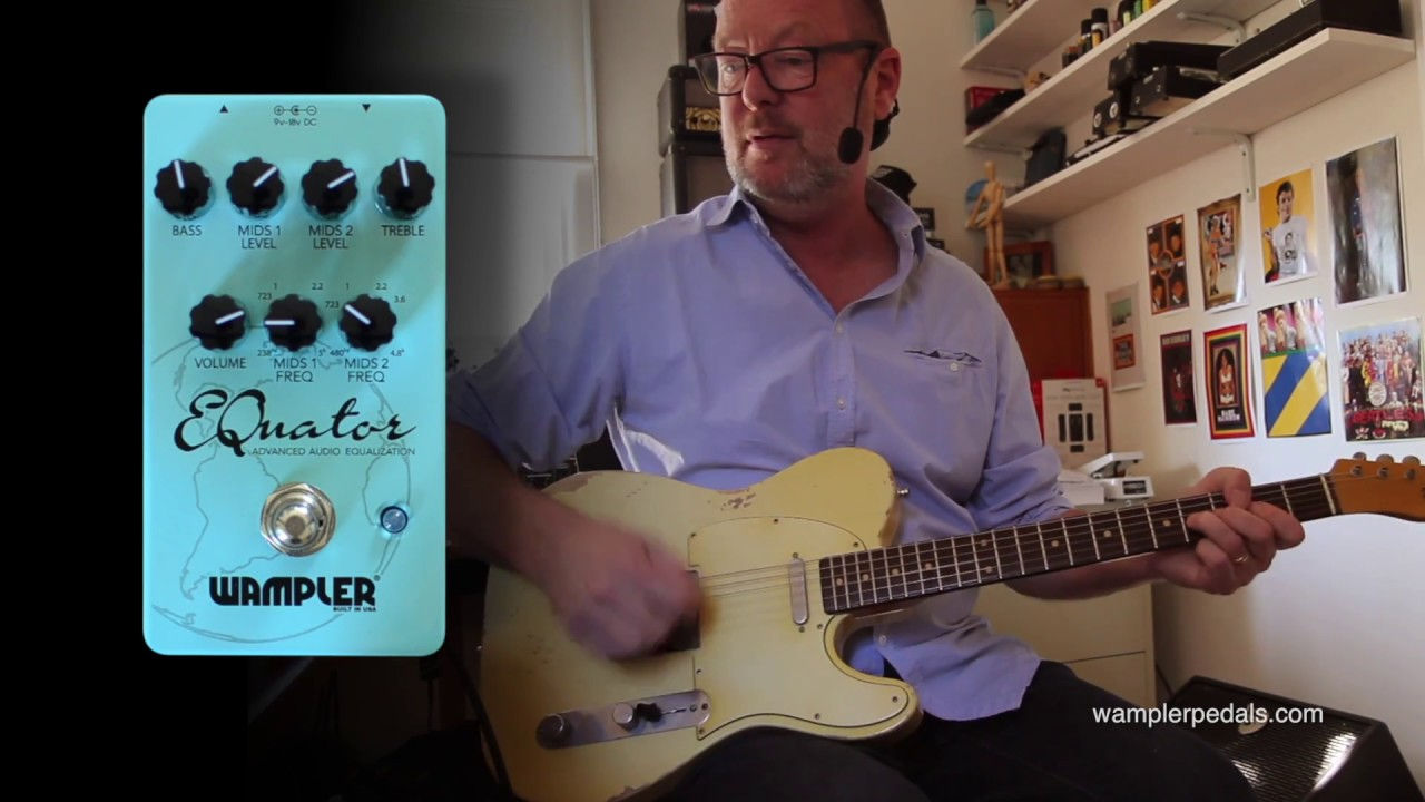 Wampler Equator Double Parametric EQ | Delicious Audio - The
