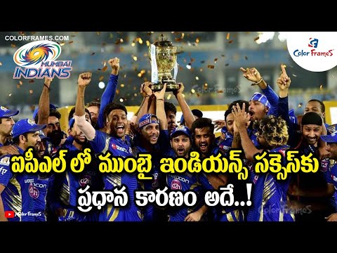 The One Reason Behind Mumbai Indians' Success In IPL | Color Frames