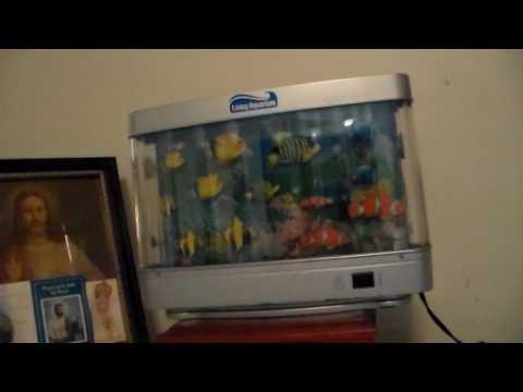 2005 Living Aquarium Lamp And A 1994 Rabbit Tanaka Fish Lamp