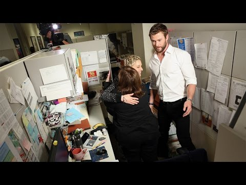 Ellen and Chris Hemsworth's Office Surprise