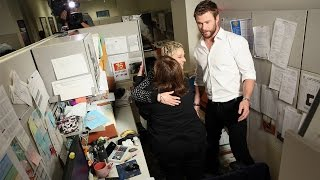 Download Ellen and Chris Hemsworth's Office Surprise Mp3 and Videos