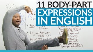 Learn English: Expressions that use body parts!