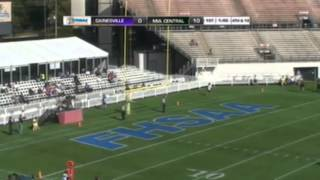 Miami Central Kicker Emilio Nadelman Kicks A 38 Yd FG