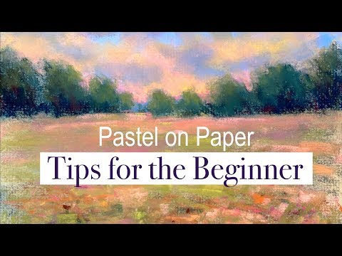 BEGINNER Pastel Painting Lesson! & Check Out My New Blending Tool!