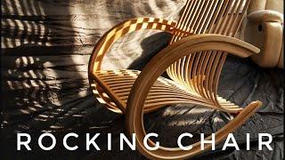 DIY Chair. Wooden rocking chair. Кресло качалка своими руками.