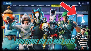 FORTNITE: May 25th Shop, NEW EMOTE ROUE, SKIN JAWS, POISCAILLE, TARO, item shop