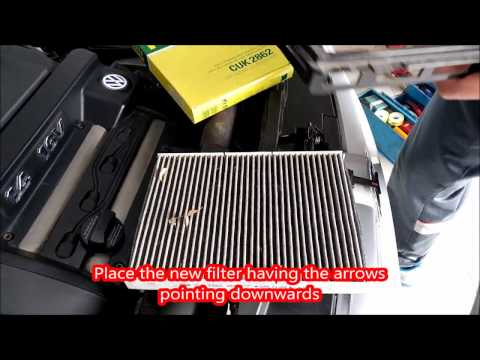 How to Change Cabin Air Filter on your Volkswagen Golf