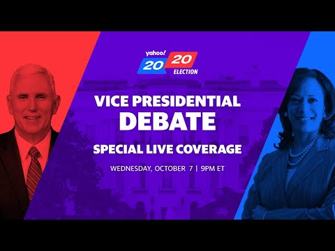 LIVE: Vice President Mike Pence and Democratic VP candidate