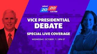 Vice President Mike Pence and Democratic VP candidate Kamala Harris debate in Utah