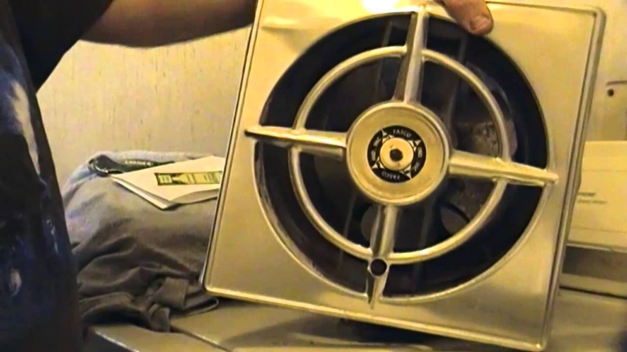 the unboxing and show tell of the vintage fasco exhaust fan