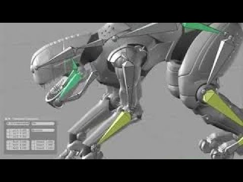 Graphic Design and 3D Modeling. Tutorial Blender Part 6 / Creature Factory 6 Rigging