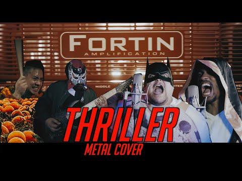 Fortin Amps - Thriller (Metal Cover by Nazaret Muñoz, Davon Harper, Erick Pastrana, & Mel Torres)