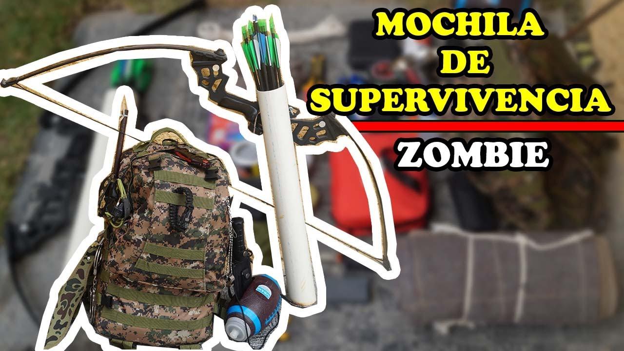 EPICO Kit Mochila De Supervivencia ZOMBIE - YMX supervivencia