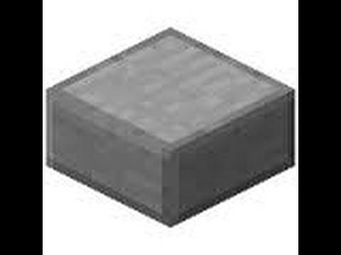 Dia 25 Como Hacer Losa De Piedra Minecraft Youtube