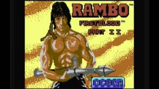 Rambo:First Blood Part II-Commodore 64 Loader Music (Martin Galway)