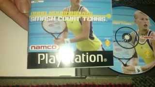 Nostalgamer Unboxing Anna Kournikovas Smash Court Tennis On Sony Playstation 1 UK PAL System Version
