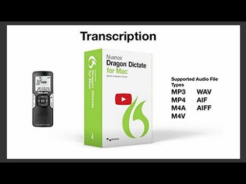 Dragon Dictate 4 Transcribing,Transcription Lectures,Meetings.