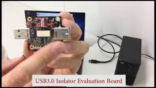 World's First reflowable USB 3.0 Isolator CHIP