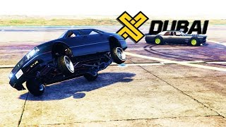 GTA V: KEN BLOCK !! OF DUBAI GYMKHANA