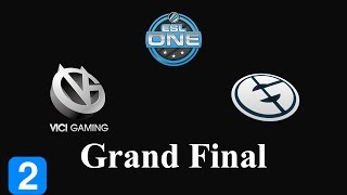 Dota 2 Highlights Vici Gaming vs Evil Geniuses Game 2- ESL One New York 2014