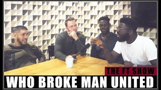HEATED DEBATE! Who broke Manchester United? Manchester United Debate 🔥🔥🔥