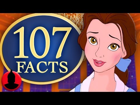 107 Beauty and The Beast Facts YOU Should Know! (ToonedUp #59) @ChannelFred