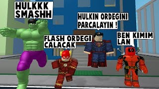 19IN SUPERHEROISM. DAY HULK WAS ONE OF THE BAD GUYS / Roblox English / MadCity Roleplay