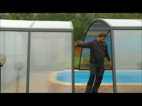 Diy Swimming Pool Enclosures Pool Dome Style Covers From Pool Warehouse Youtube