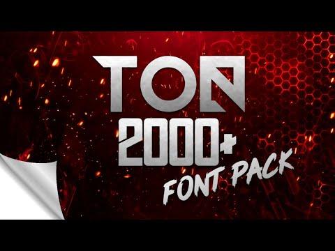 Download Font Pack || Font Pack Download || huge font pack | Top ...