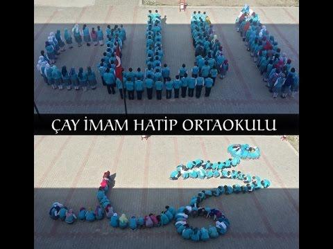 afyonkarahisar çay imam hatip ortaokulu 2016 tanıtım filmi