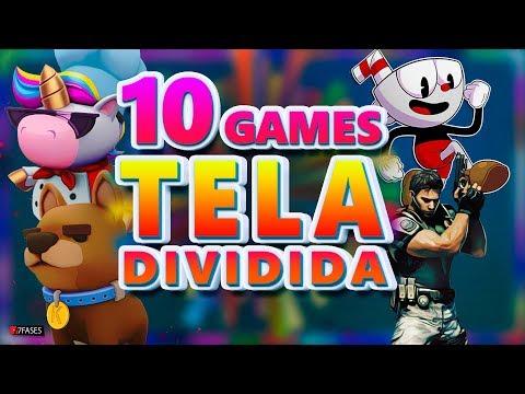 10 Games Com Tela Dividida Para Jogar De 2 A 4  - PC, PS4, SWITCH, XBOX ONE | 7 Fases