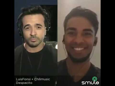 Luis Chilibertty @chilimusic #despacito Ft. Luis Fonsi Cover ( sing - smule )
