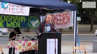 8. Friedensmahnwache in Wien: Michi über Separation (16.6.2014)