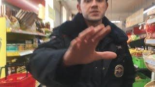 """Хотел заснять полицейского - получил удар по лицу! """"Я не хочу чтобы меня моя девушка видела!"""""""