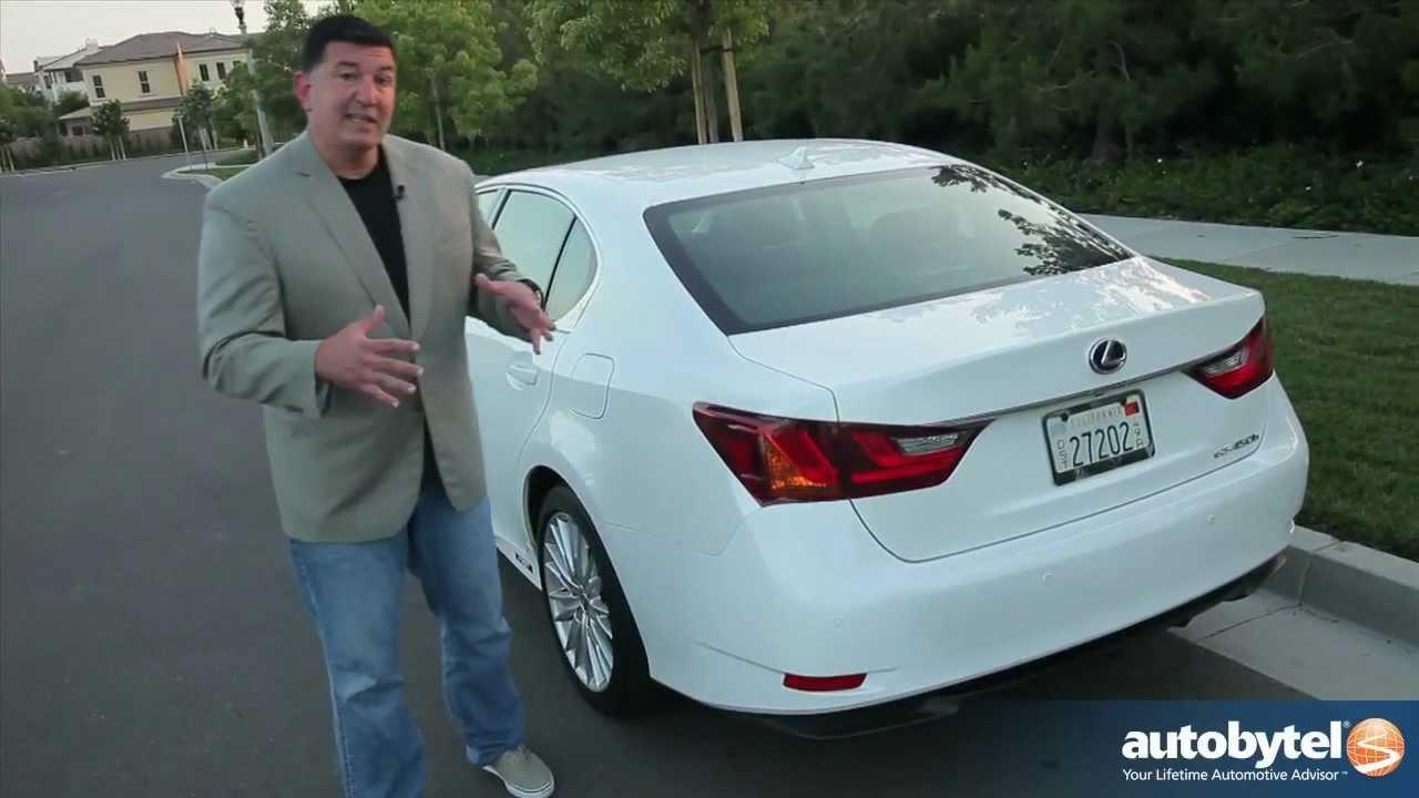 2017 Lexus Gs 450h Test Drive Luxury Hybrid Car Video Review