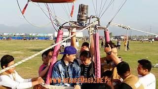 Maymay Entrata and Edward Barber at Lubao International Balloon & Music Festival 2018