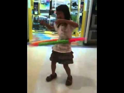 Hula hoop and Wheel stick