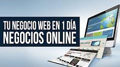 Negocio Web en 24 horas