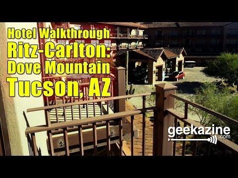 Ritz Carlton: Dove Mountain - Tuscon, AZ Hotel Walkthrough