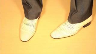 Мужские туфли белые 796 6996 beige Etor.wmv
