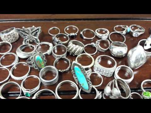 As Seen On Ebay - Huge 200+ Sterling Silver Ring Lot