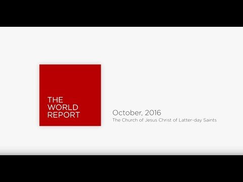 October 2016 World Report