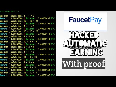 Faucetpay 🤑Hacked Auto Bitcoin🤑|| With Proof ||leftworld Crypto