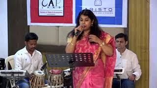 Katra Katra Milti Hai Mahalaxmi Krishnan at Jashn-E-Gulzar