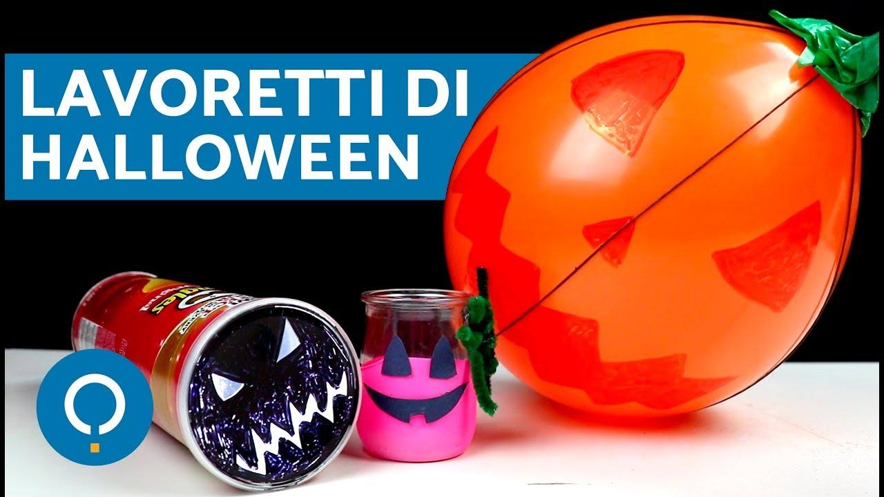 Lavoretti di halloween per bambini decorazioni di for Youtube lavoretti per bambini