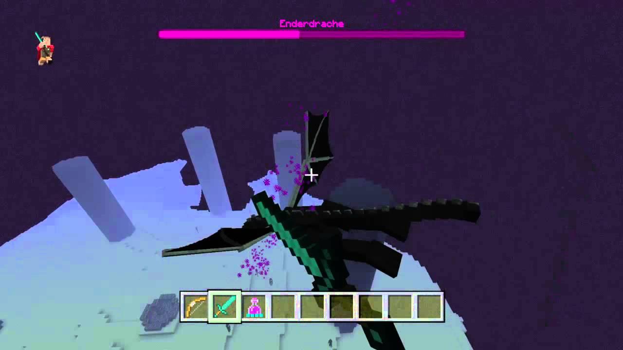 Minecraft tutorial enderdrachen ei bekommen f r servers - Minecraft dekoration ...