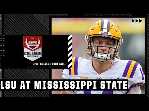 Download LSU Tigers at Mississippi State Bulldogs | Full Game Highlights