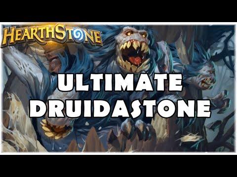 HEARTHSTONE - ULTIMATE DRUIDASTONE! (STANDARD DK JADE DRUID)