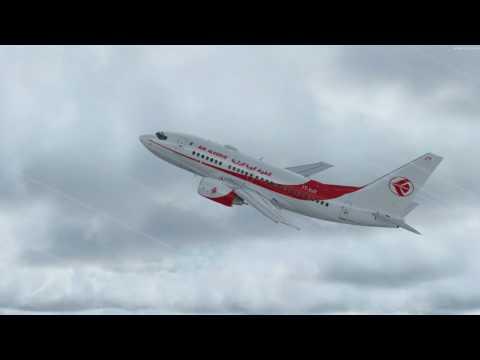 flight from Alger to Marseille B737 600 AIR ALGERIE (erreur sur les autobrakes)