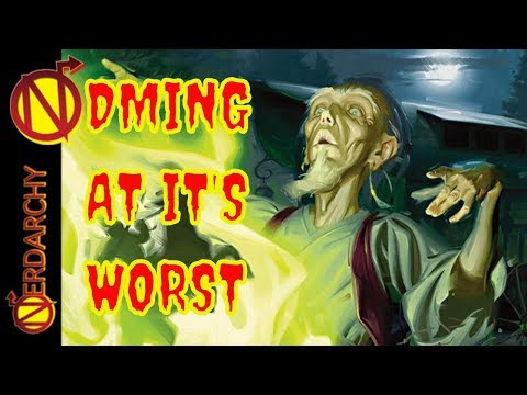 WORST Ways to GM- Antagonistic Dungeon Master- D&D Discussions